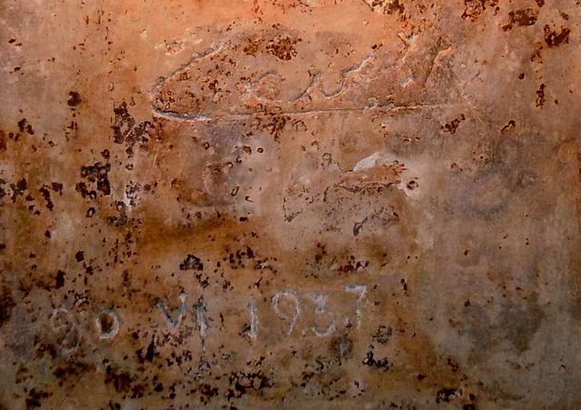 Подпись Кароля II, Короля Румынии, Фрагмент.