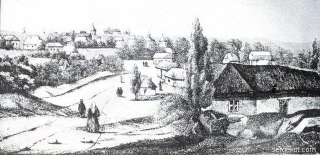 Колония Шабо в 1850 году, работа Eugène Duffoug-Favre,.