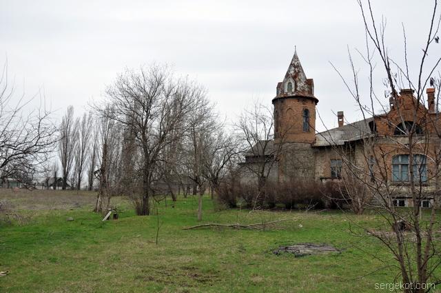 Шабо. Усадьба Ансельма. С видом на сад.