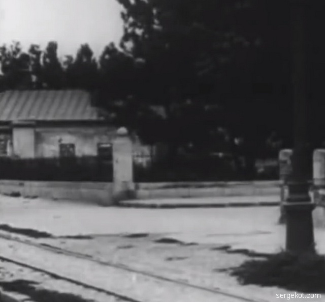 Решетка дома 11 по Французскому бульвару. 1926 год.