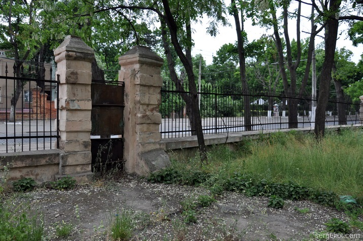 ограда, Школа слепых, Французский бульвар