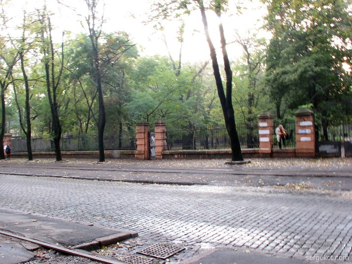 ограда, Французский бульвар , Школа слепых